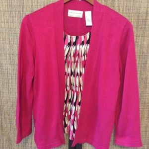 Alfred Dunner sweater blouse